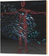 Metamorphosis Wood Print by Jack Zulli