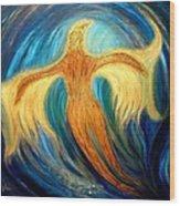 Metamorphosis Vii Wood Print by Gilda Pontbriand