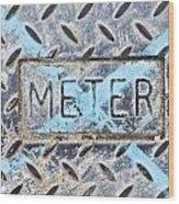 Meter Cover Wood Print