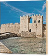 Methoni Venetian Fortress Wood Print