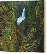Metlako Falls Wood Print