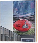 Metlife Stadium Box Office Wood Print