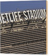 Metlife Stadium Wood Print