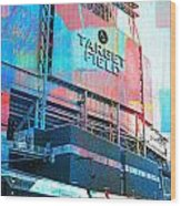 Metro Transit And Target Field  Wood Print