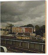 Metropolitan Transit Wood Print
