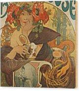 Meuse Beer Wood Print