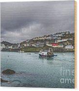 Mevagissy Cornwall Wood Print