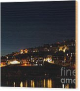 Mevagissy Nights Wood Print