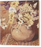 Mexican Bean Pot Wood Print