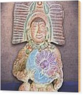 Mexican Clay Artwork Wood Print
