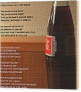 Mexican Coke Wood Print