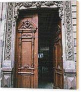 Mexican Door 5 Wood Print