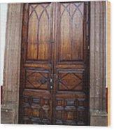 Mexican Door 62 Wood Print