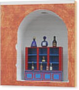 Mexican Facades Wood Print