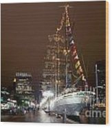 Mexican Navy Ship Cuautemoc Wood Print