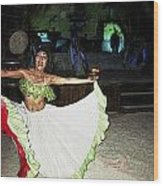 Mexican Traditional Dancer Wood Print