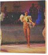 Mexican Traditional Dancers Wood Print