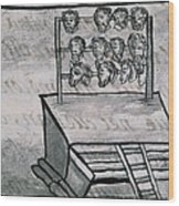 Mexico - Skull Rack Wood Print