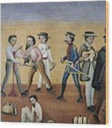 Mexico Satire, C1850 Wood Print