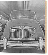 Mg Mga Sports Car Wood Print