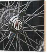 Mg Wheel Wood Print