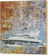 Mgl - Gold Mediterrane 05 Wood Print