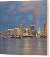 Miami - The Magic City Wood Print