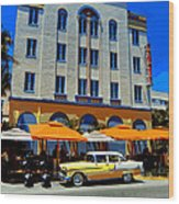 Miami 041 Wood Print