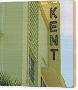 Miami Beach - Art Deco 10 Wood Print