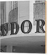 Miami Beach - Art Deco 22 Wood Print
