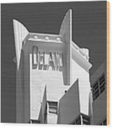 Miami Beach - Art Deco 23 Wood Print