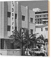 Miami Beach - Art Deco 24 Wood Print