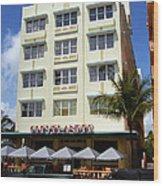 Miami Beach - Art Deco 43 Wood Print