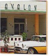 Miami Beach - Art Deco Wood Print