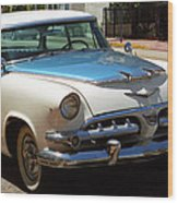 Miami Beach Classic Car 2 Wood Print