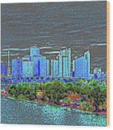 Miami Color Wood Print