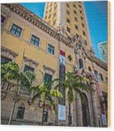 Miami Freedom Tower 1 - Miami - Florida Wood Print by Ian Monk