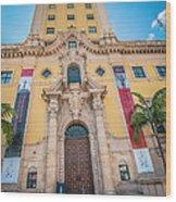 Miami Freedom Tower 2 - Miami - Florida Wood Print
