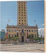 Miami Freedom Tower 3 - Miami - Florida Wood Print