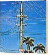 Miami Key West Wood Print