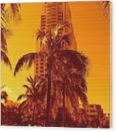 Miami South Pointe Iv Wood Print