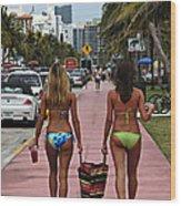 Miami Vice Wood Print
