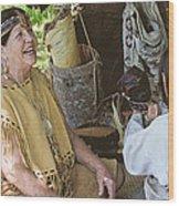 Miccosukee Indian Tribe Wood Print
