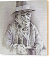 Michael J Anderson Wood Print