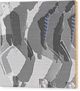 Michael Jackson A La Warhol By Dominique Amendola Wood Print
