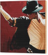 Michael Jackson Artwork 4 Wood Print