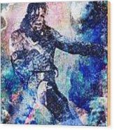 Michael Jackson Original Painting  Wood Print