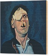 Michael Palin Wood Print by Paul Meijering