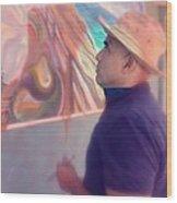 Michael Rosenblatt With A Holga Filter Wood Print