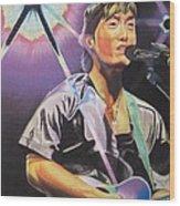 Micheal Kang Wood Print